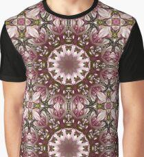 Spring blossoms, Flower Mandala Graphic T-Shirt