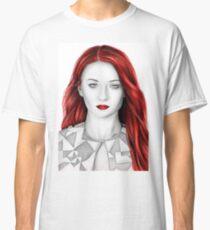 Pencil Sophie Turner Classic T-Shirt