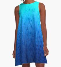 Ombre A-Line Dress