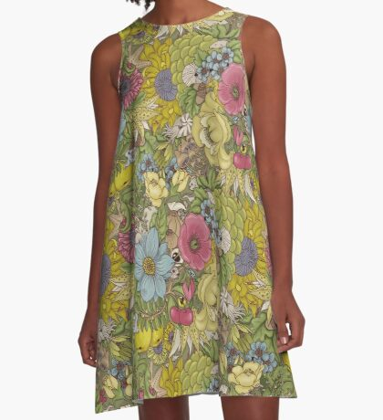 The Wild Side - Spring A-Line Dress