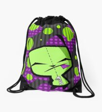 Happy Gir from Invader Zim fanart Drawstring Bag