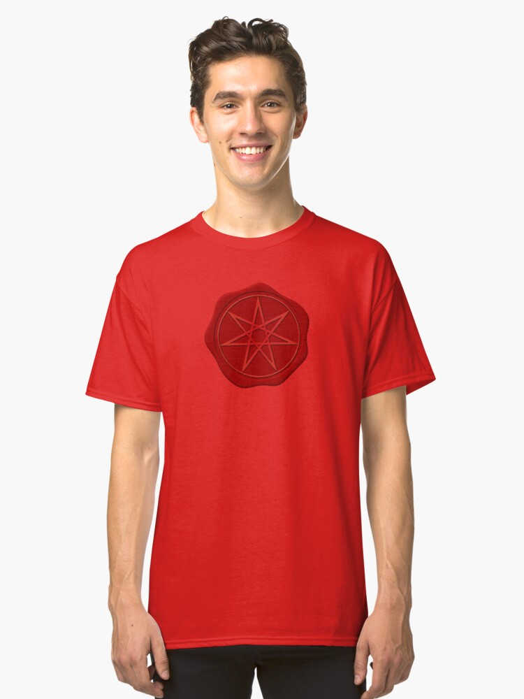 Seven pointed Star Classic T-Shirt Front