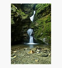 St Nectans Glen Waterfall Photographic Print