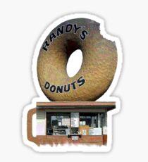 Randy's Donuts T Sticker