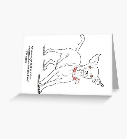 In Times of Joy Greeting Card