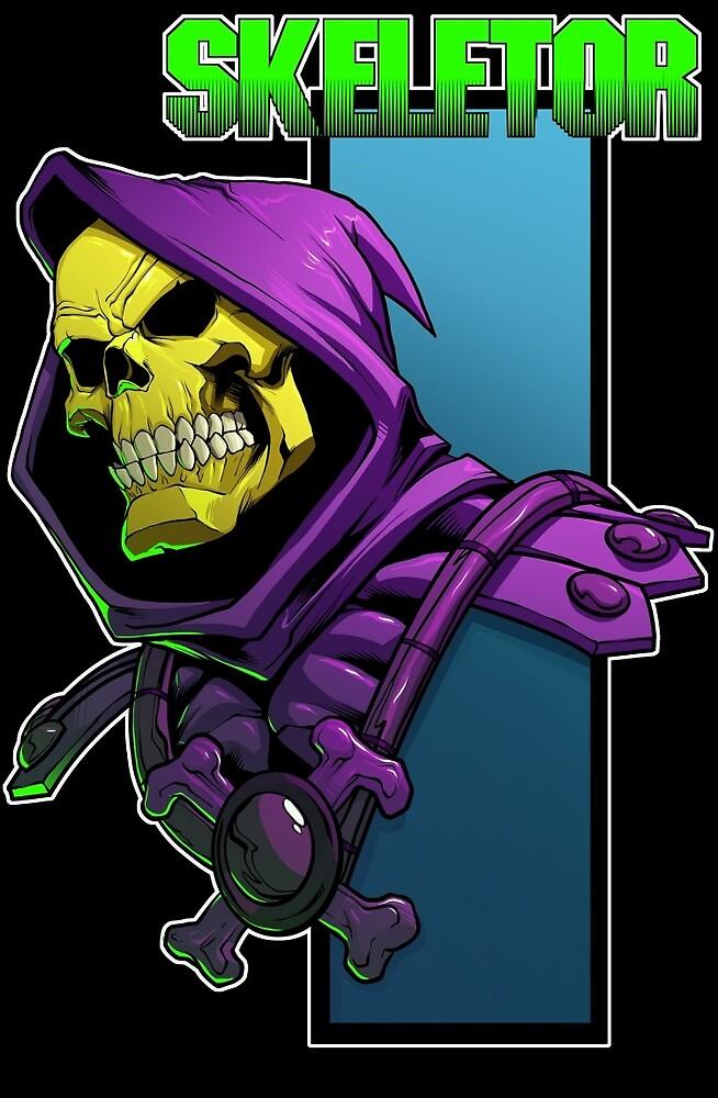 Skeletor by dlxartist