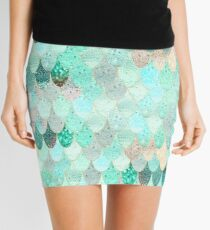 SUMMER MERMAID ORIGINAL by Monika Strigel Mini Skirt