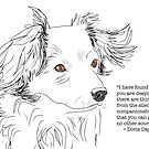 Companionship of a Dog by Ruca