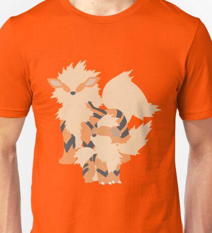 Growlithe Evolution Unisex T-Shirt