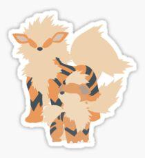 Growlithe Evolution Sticker