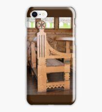 Pew in Sant Olaf Kirke iPhone Case/Skin