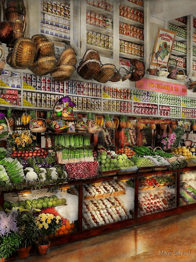 Grocery - Edward Neuman - The produce section 1905 by mikesavad