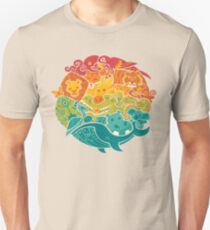 Animal Rainbow - cream T-Shirt