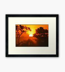 Foggy Summer Morning 2 Framed Print