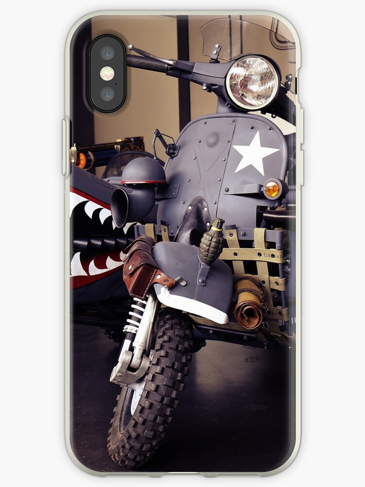 Fantasy Motorcycle, army style by hottehue