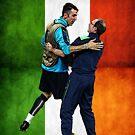 Martin O'Neill & Gigi Buffon by westonoconnor