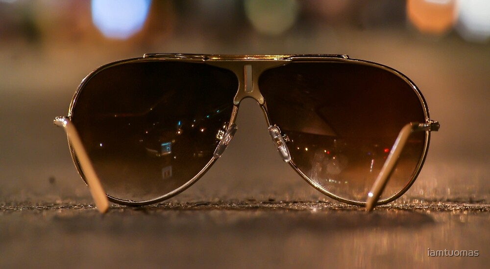 Sunglasses at night by iamtuomas