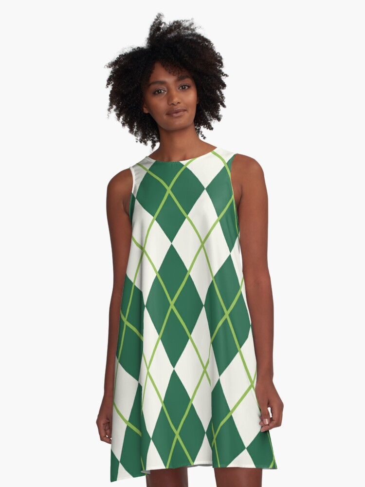 Irish All Over A-Line Dress Front