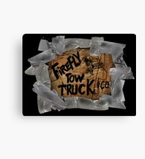 Firefly Tow Truck Co. Canvas Print