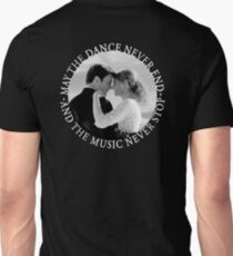 Caskett - May The Music Never Stop T-Shirt