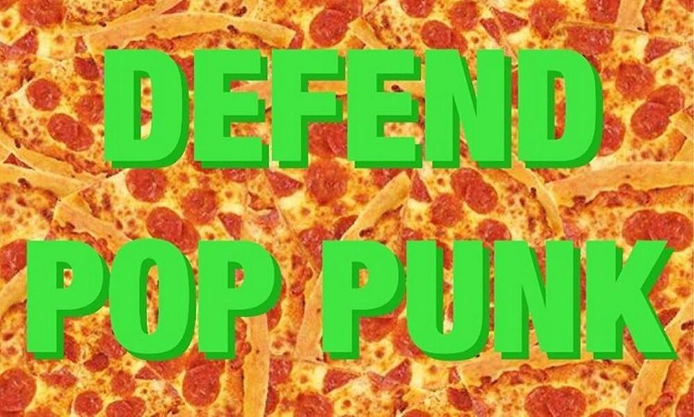 Defend Pop Punk - Pizza Background by alexa182