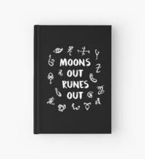 Monde Runen aus Notizbuch