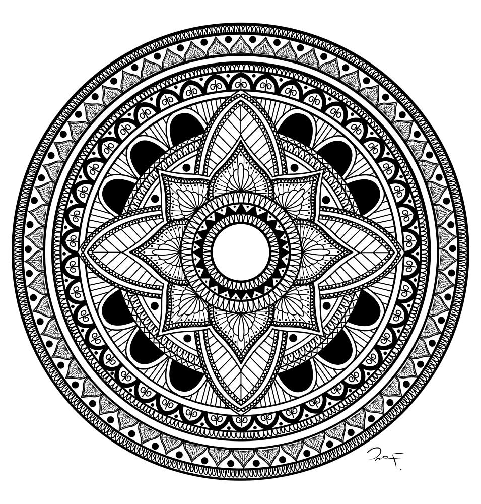 Mandala by Fratesimo