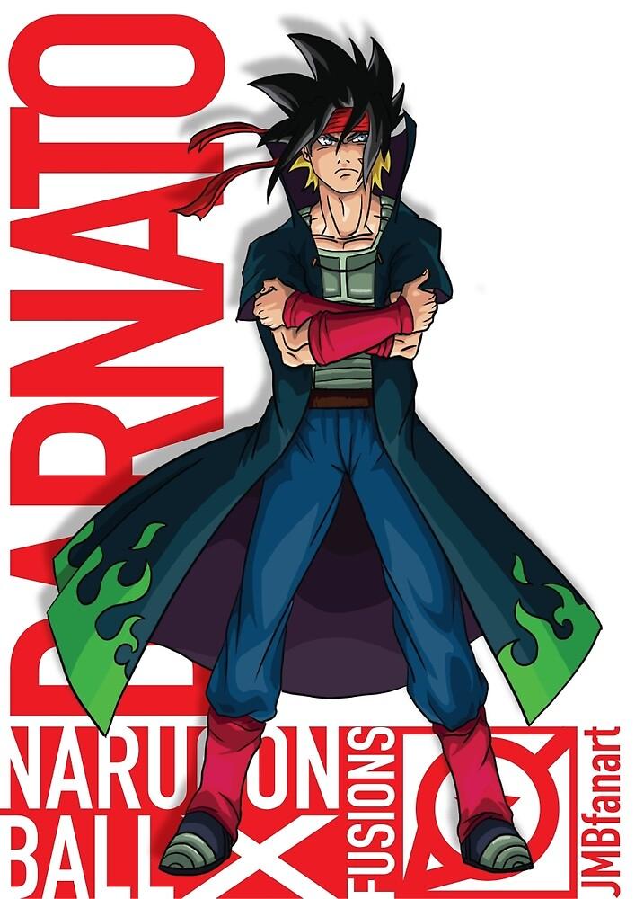 Barnato (Bardock and Minato fusion) by JMBfanart