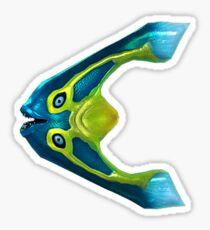 Boomerang Fish Sticker