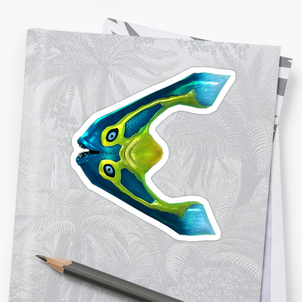 Boomerang Fish Sticker