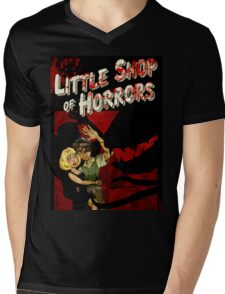 Little Shop of Horrors - pulp style Mens V-Neck T-Shirt
