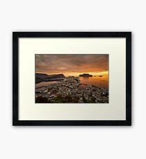 Ålesund, Norway Framed Print