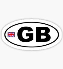 GB - GREAT BRITAIN - BUMPER STICKER Sticker