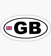 GB - GRANDE-BRETAGNE - AUTOCOLLANT DE VOITURE Sticker