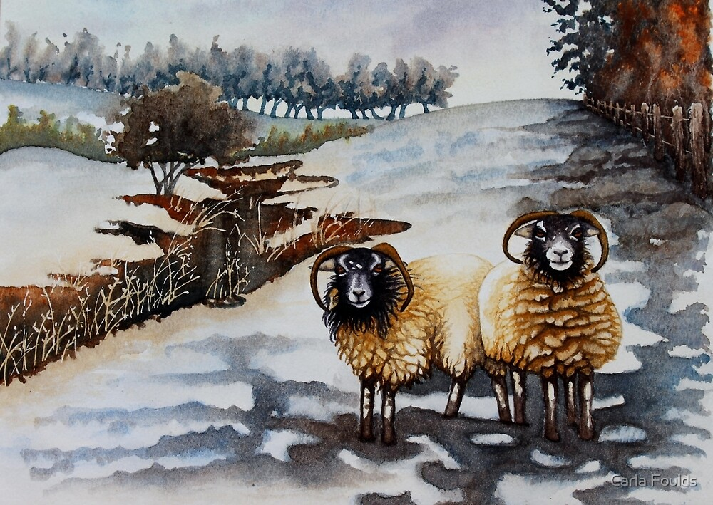Woolly Jumper Weather by Carla Foulds