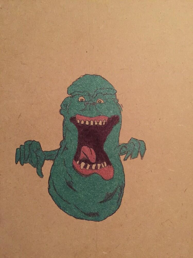 """Slimer."" by Rusty78"