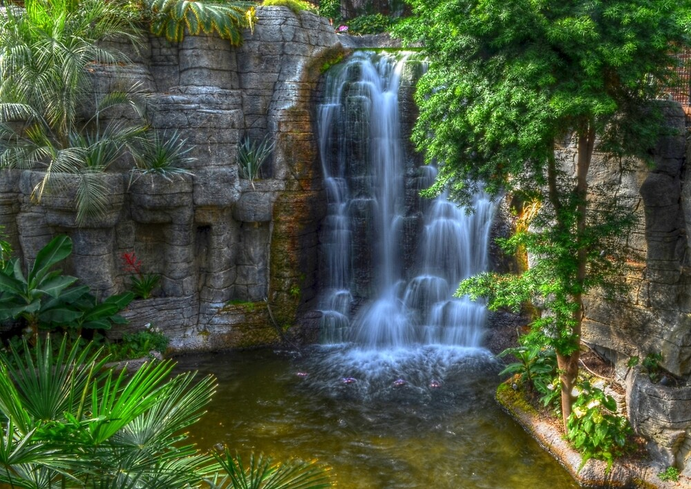 Grand Ole Opry Waterfall by Ronald Williams