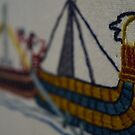 Viking ship by Stamford Bridge Tapestry Project