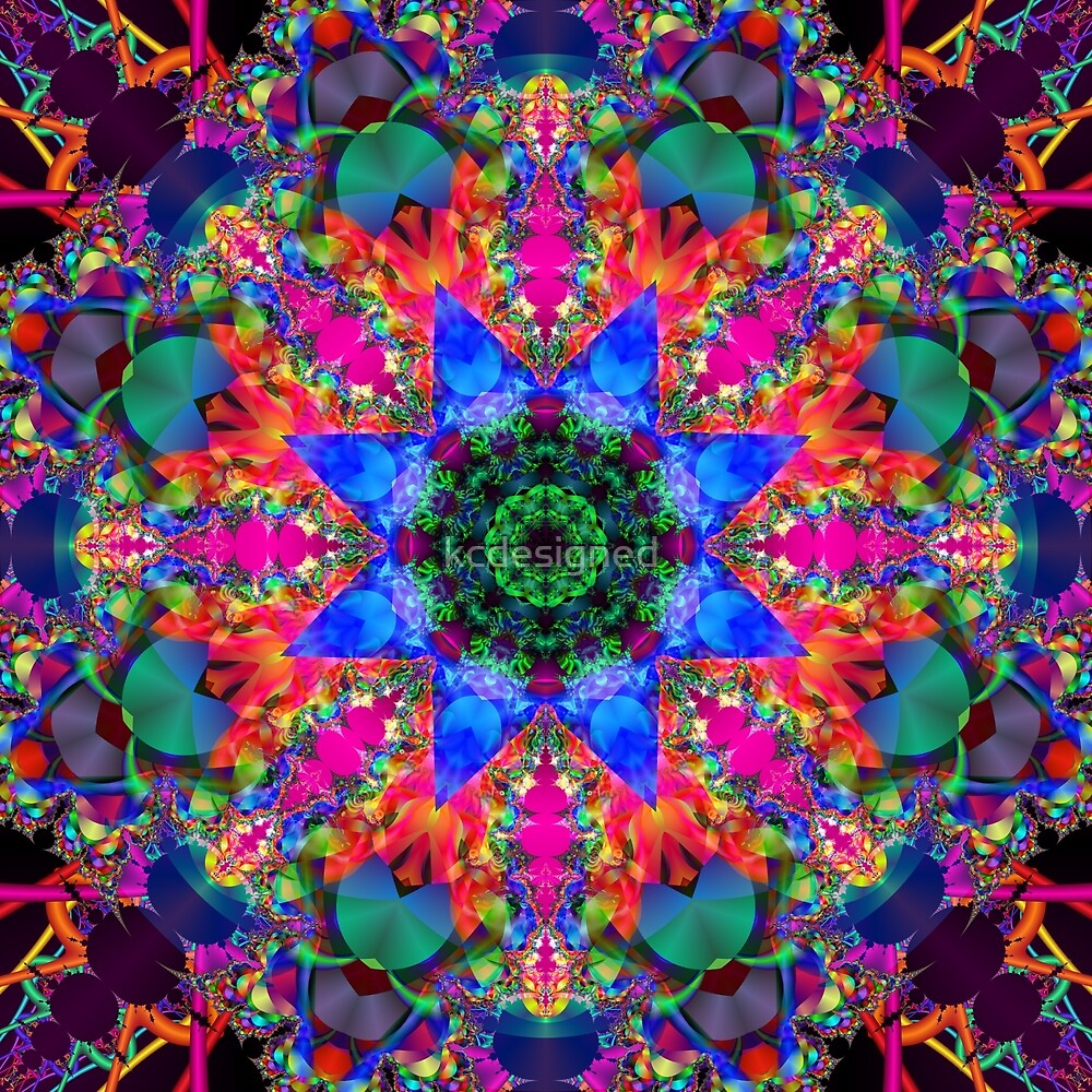 Mandala 160702-02-00100 by kcdesigned