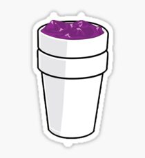 Codeine Cartoon Sticker