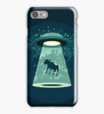 Beware UFO iPhone Case/Skin