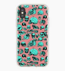 Skull Overload Pattern iPhone Case