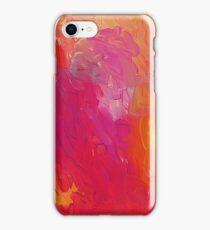 heart on fire iPhone Case/Skin
