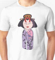 Kokeshi Geisha  T-Shirt