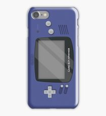 Gameboy Advance - Indigo iPhone Case/Skin