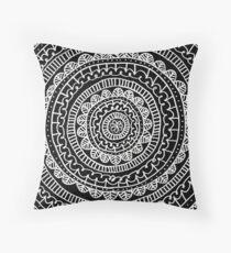 Zentangle Aztec Tumblr Design Throw Pillow