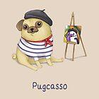 Pugcasso by SprawlingPuppy