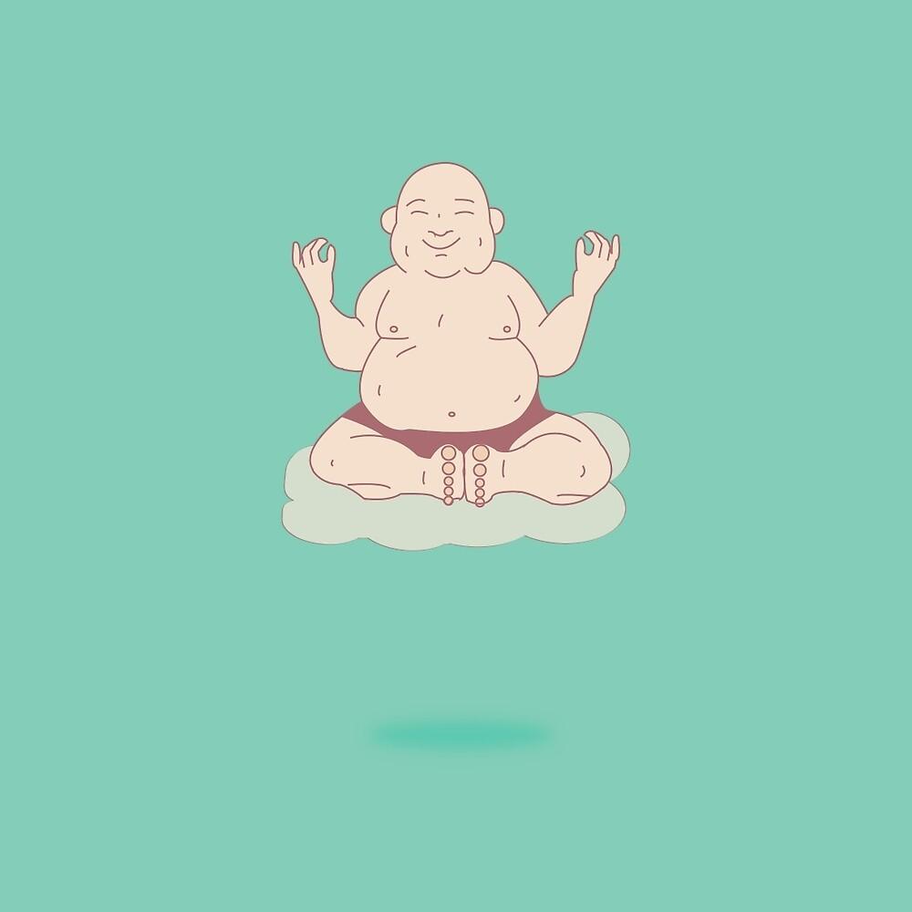 Meditating by jacxil