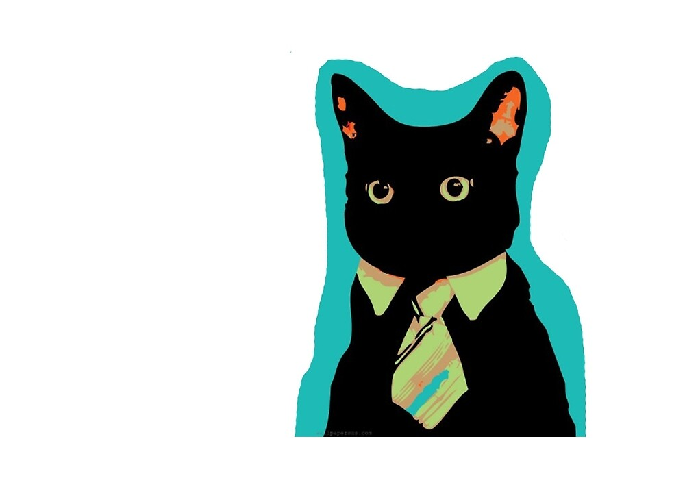 Business Cat by Jeremy  Ingram
