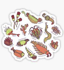 Cambrian Critters Sticker